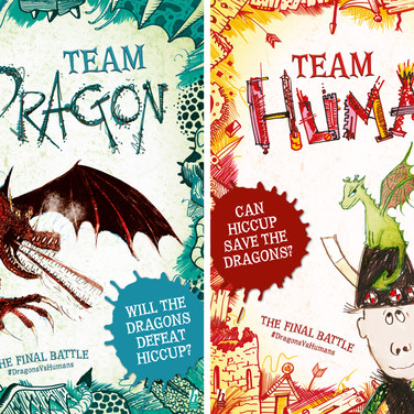 How to Train Your Dragon: Team Posters