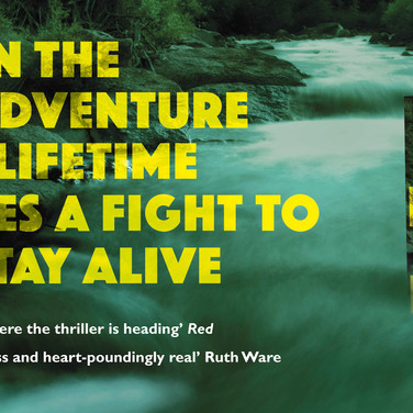 The River At Night: Rail Advertising