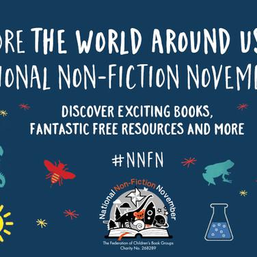 National Non-Fiction November Social Media Assets