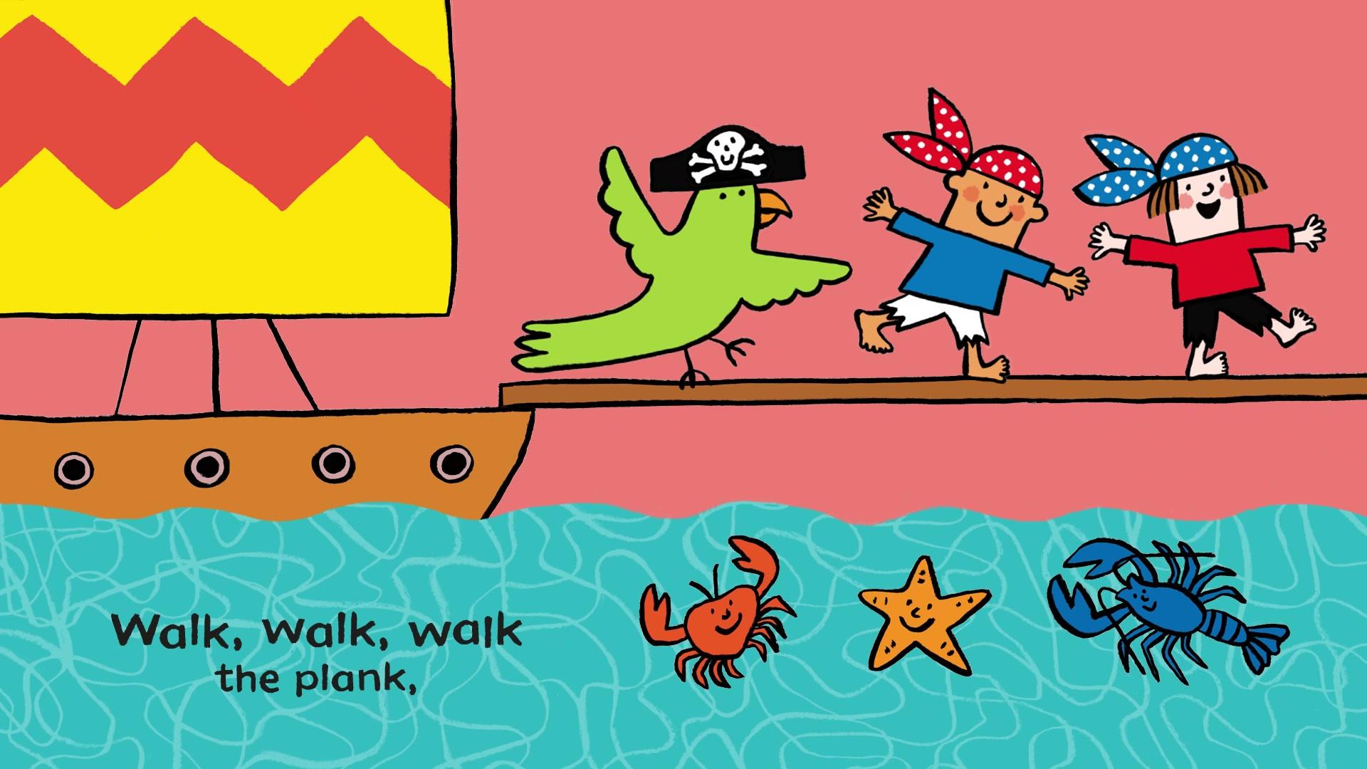 Go Go Pirate Boat