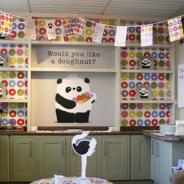 Please Mr Panda: Display