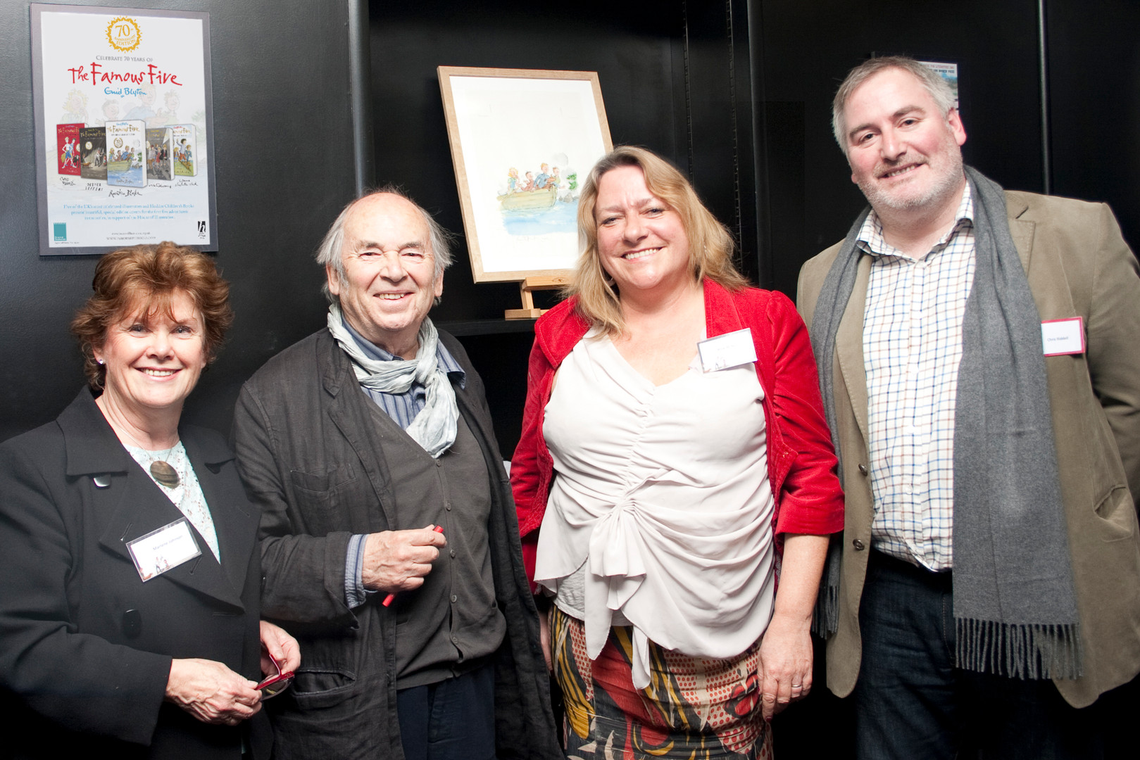 Quentin Blake and Chris Riddell