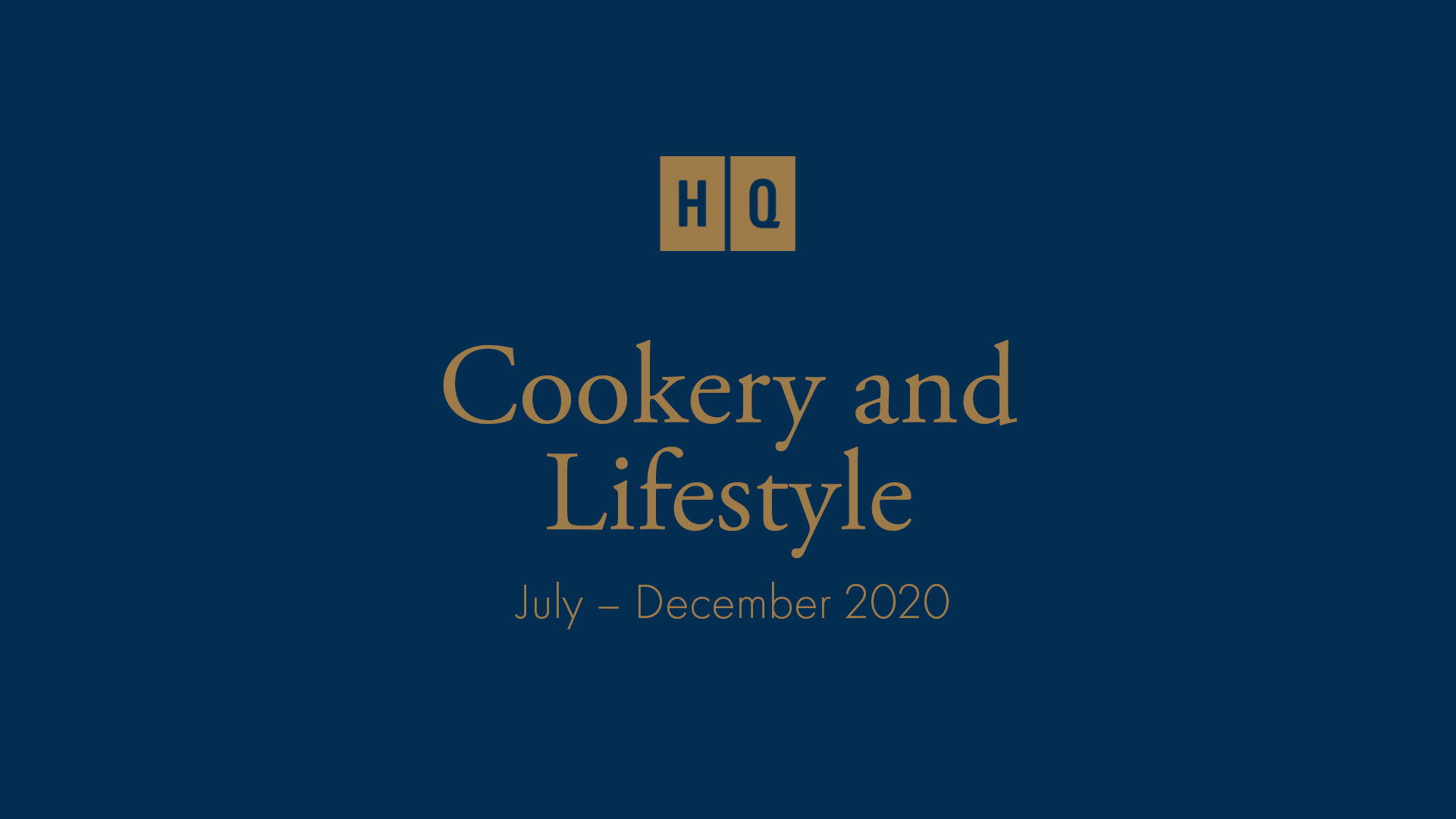 HQ Cookery and Lifestyle