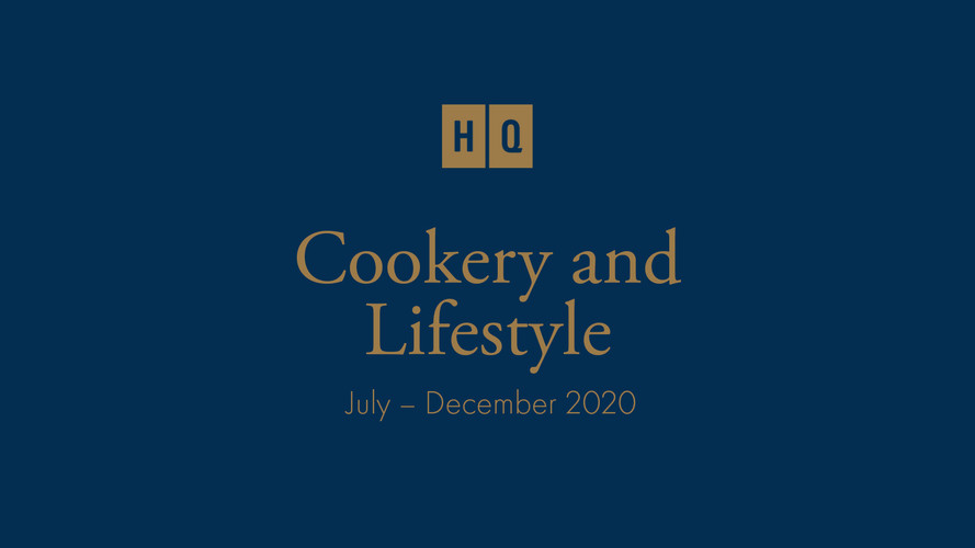 Cookery And Lifestyle Showreel