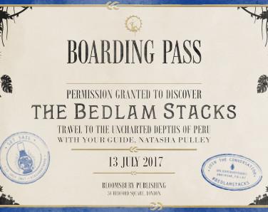 The Bedlam Stacks: Postcard