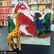There's a Tiger in the Garden: Standee