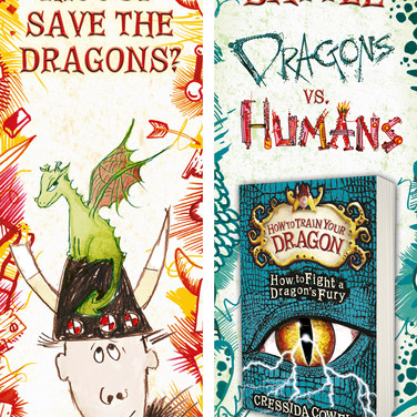 How to Train Your Dragon: Team Bookmarks