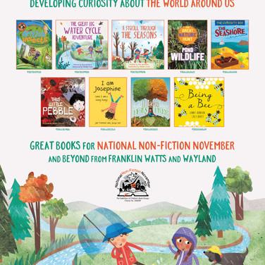 National Non-Fiction November Poster