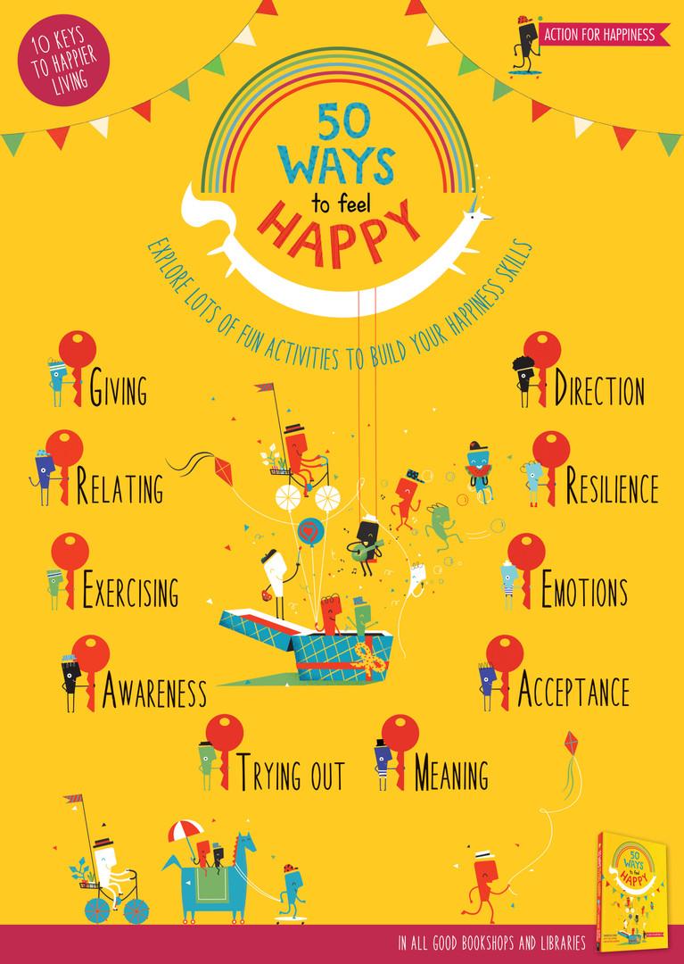 50 Ways to Feel Happy