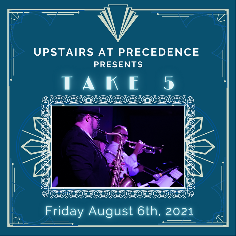Friday Jazz & Library Lounge - Featuring Take 5, August 6th