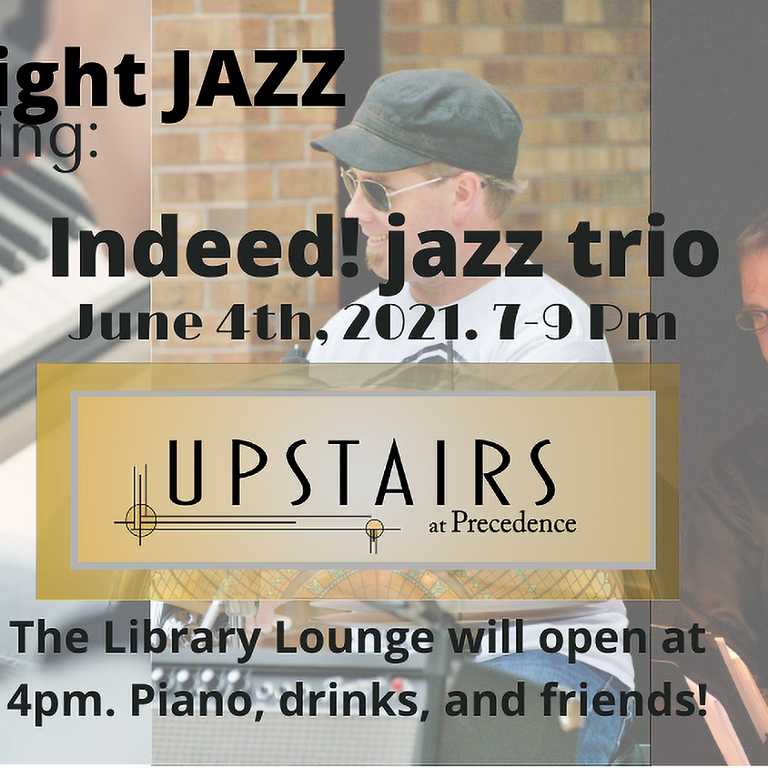 Friday Jazz & Library Lounge - June 4th