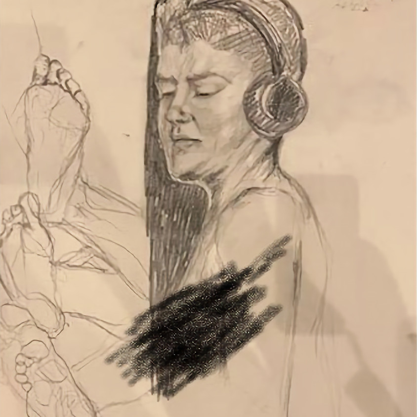Live Figure Drawing Class - April 27th