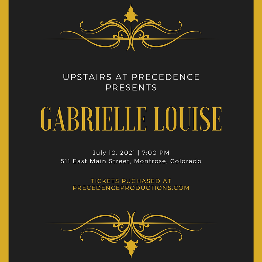 Gabrielle Louise - Live in Concert!