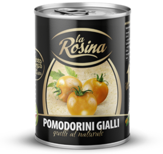 La Rosina Pomodorini Gialli 400gr