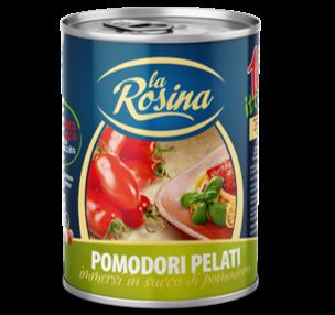 La Rosina Pomodori Pelati 400gr