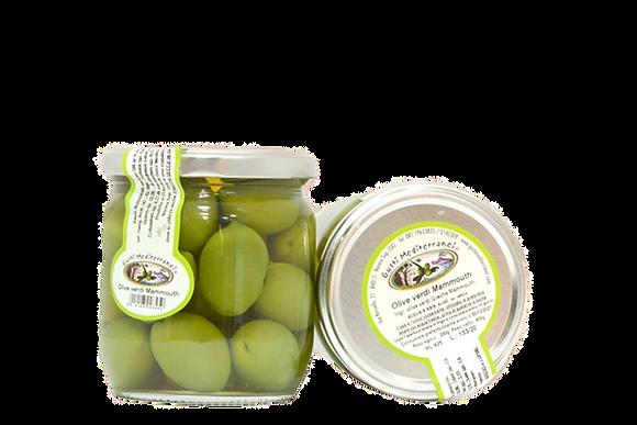Gusti Mediterranei Olive verdi al naturale 425gr
