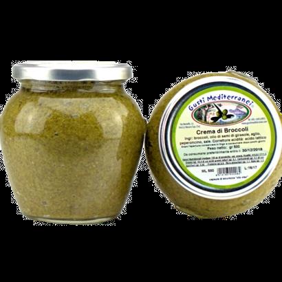 Gusti Mediterranei Crema di broccoli alla napoletana 580gr