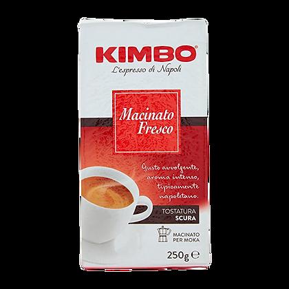 Kimbo Caffè Macinato Fresco 250gr