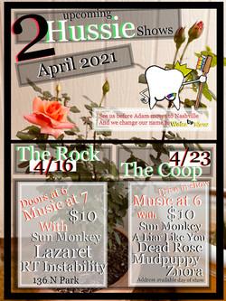 april 2021 shows