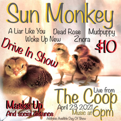 woke up new drive in show at the coop 4/23