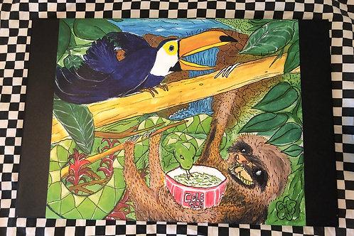 """Cole SLA"" Print on Canvas"
