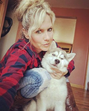 dakine Siberian Husky puppy