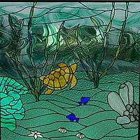 Underwater Shower Window