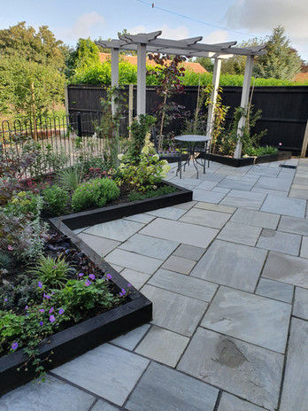 Paving and Planting