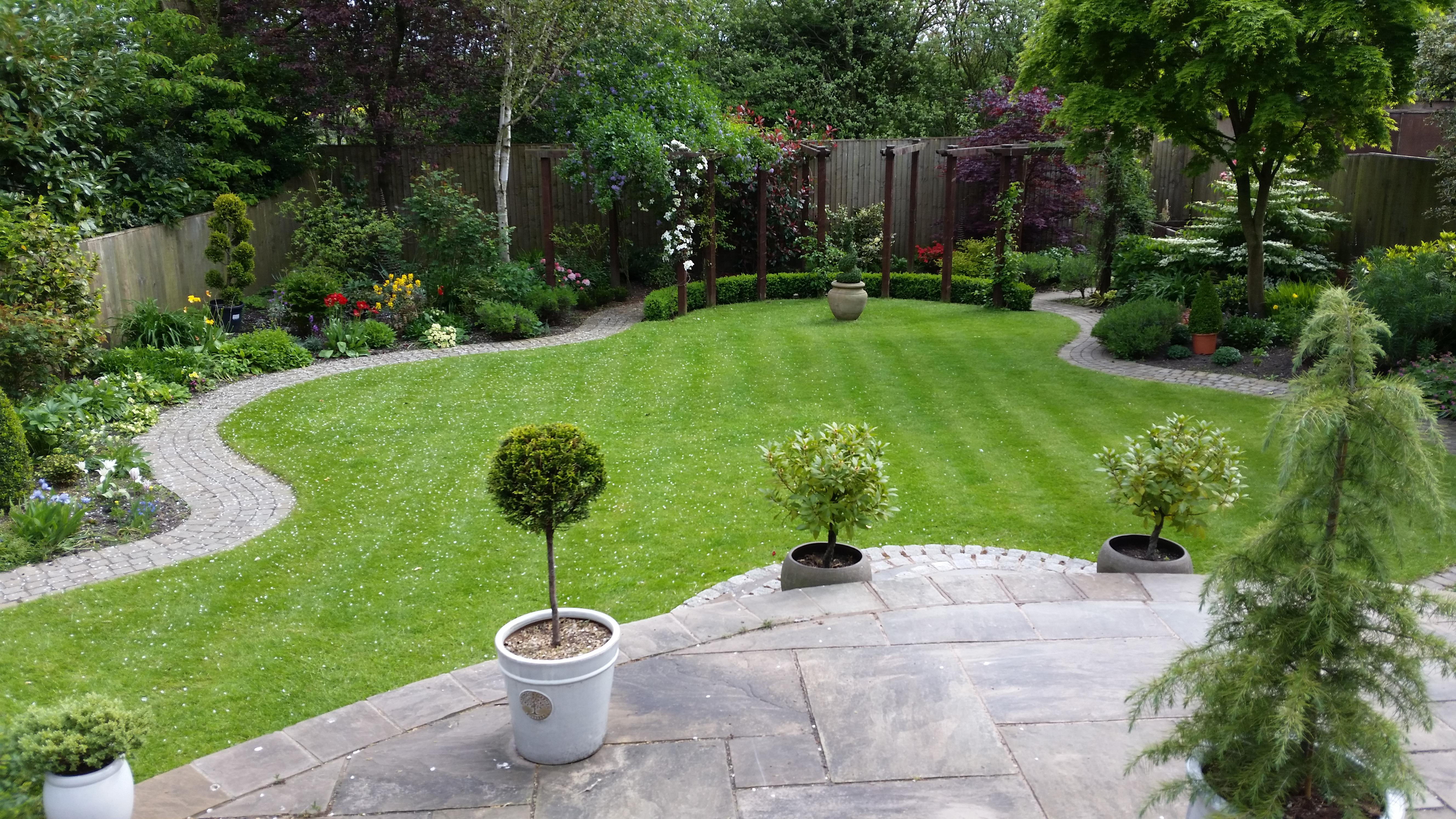 Yorkshire garden design