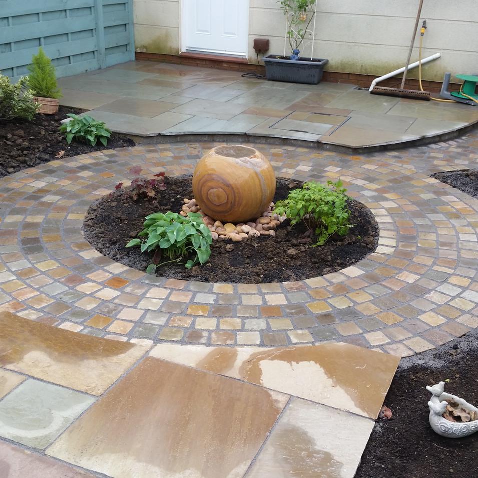 Garden design after