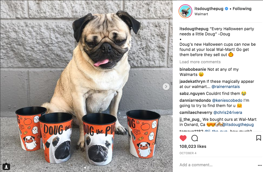 Doug with Halloween Cup