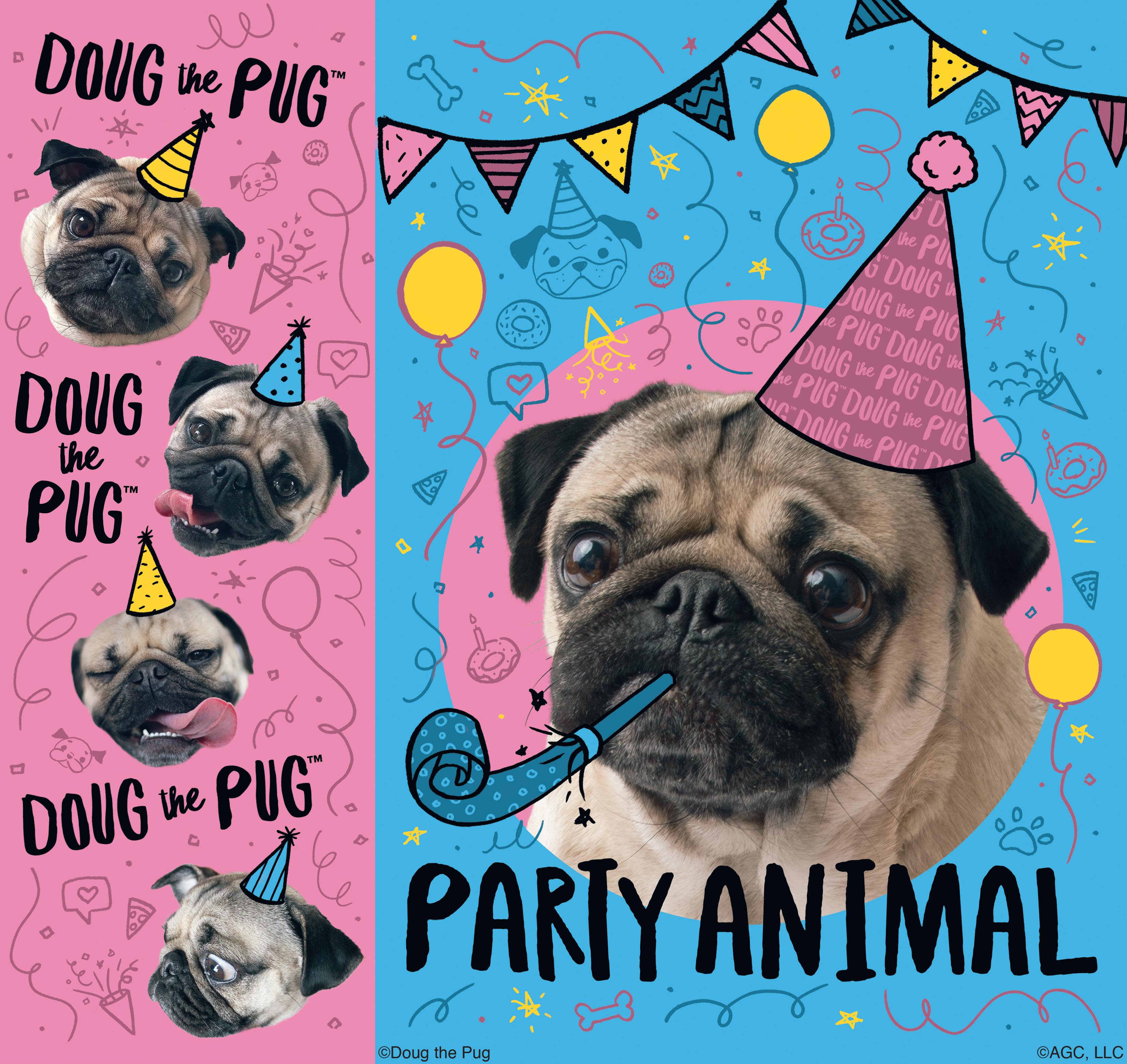 Doug the Pug gift bag