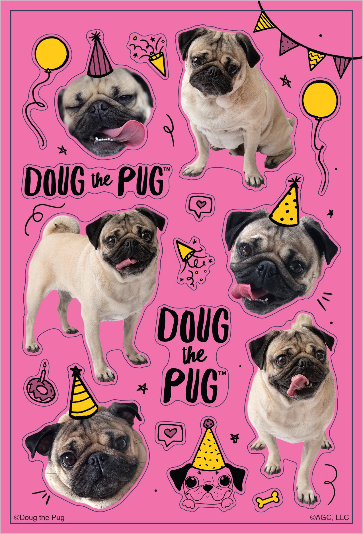 Doug Sticker Sheet 2