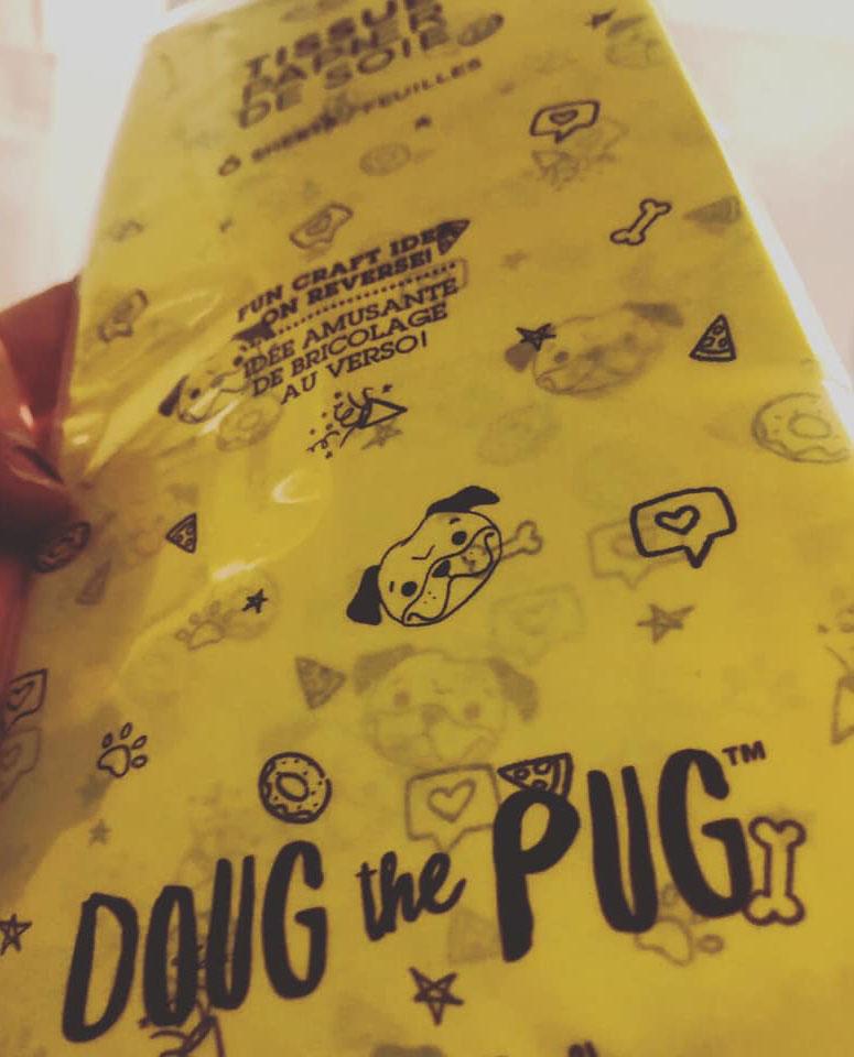 Doug the Pug Tissue Paper