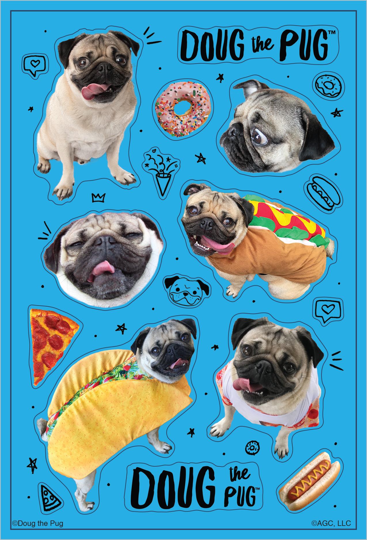 Doug Sticker Sheet