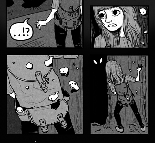 'Something Scary' page 3