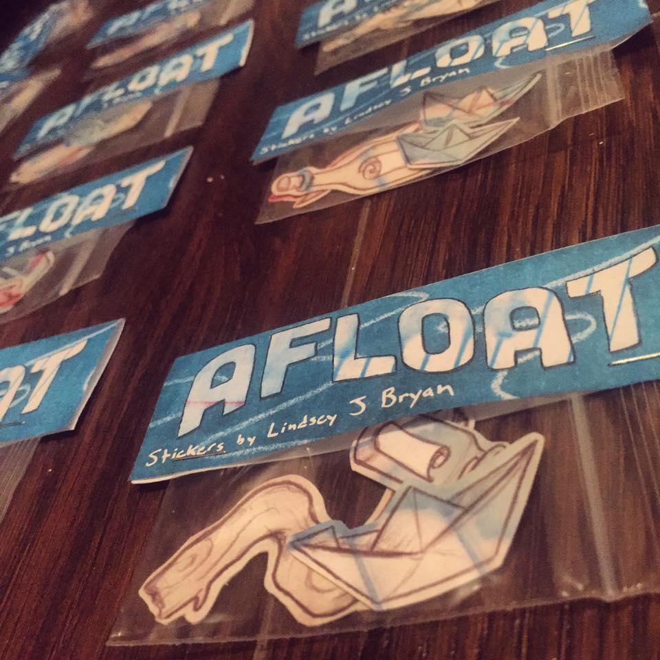 'Afloat' Sticker Pack