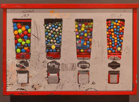 Krzizek-Kaugummiautomat