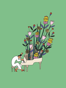 "Dre ""Frau Blumenthaler spielt Klavier"""