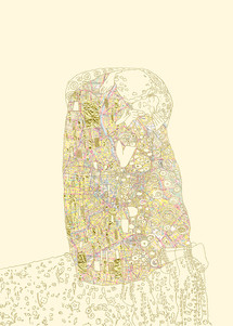 "Plank ""Klimt Map"""