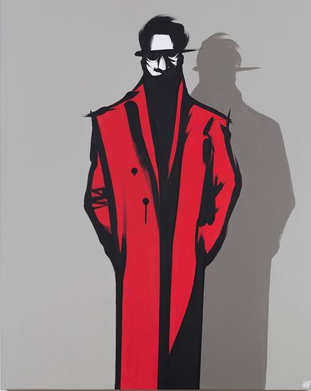 Golif-Roter Mantel