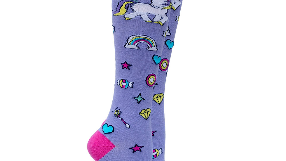 Women's Unicorn Knee High Socks