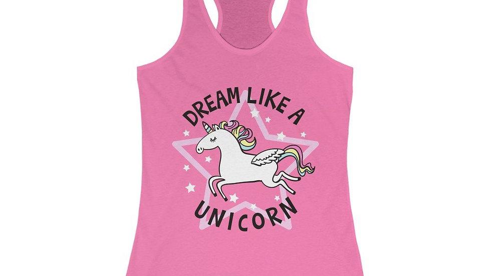 Dream Like a Unicorn Racerback Tank Top