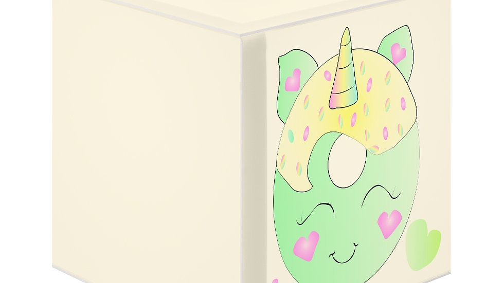 Unicorn Doughnut Personalized Lamp