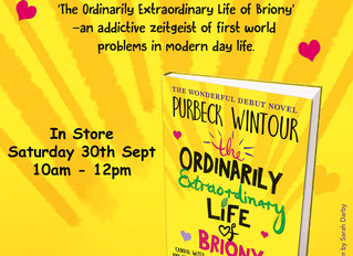 Book signing event at Waterstones, Dorchester!