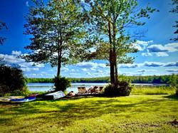 Private Lakeside Lawn