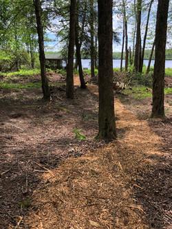 Private Lake Path