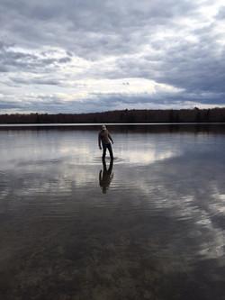 Spring Fed, Sandy bottom Lake