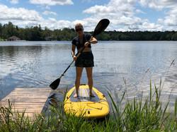 Kayak, PaddleBoard, RowBoat provided
