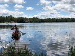 Lake toys provided! 2 seat Kayak